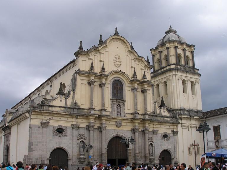 Popayan's most beautiful church