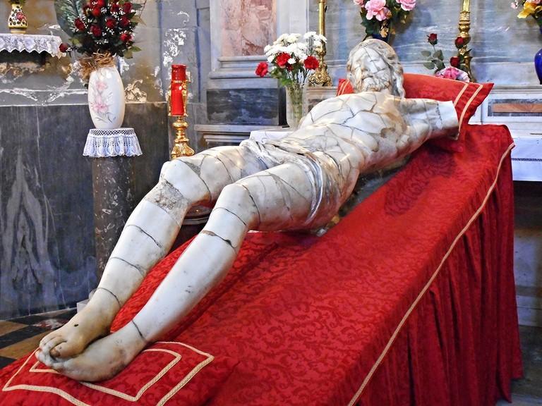Il Crocifisso, carved by Michelangelo Naccherino | © Carlo Raso/Flickr