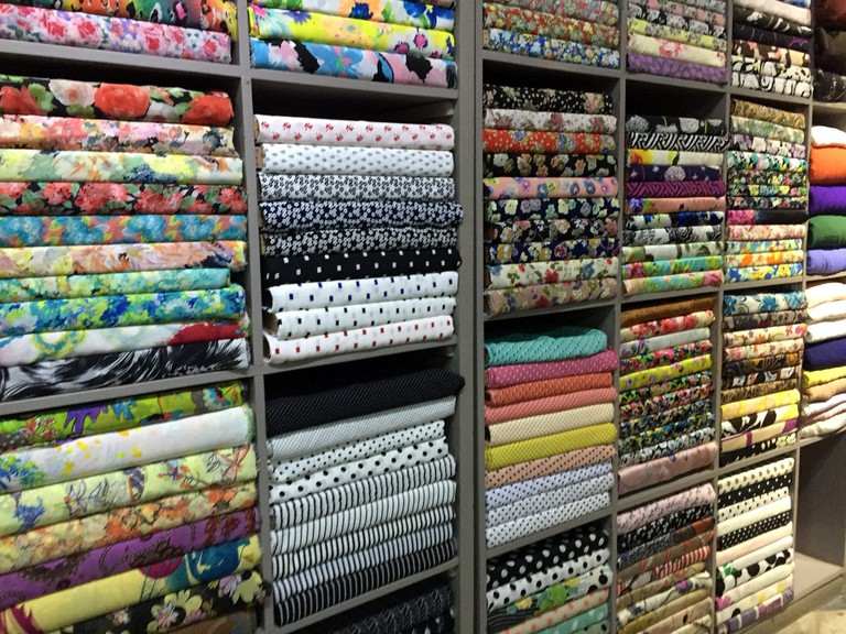 Choose your fabric!   © Bex Walton/Flickr
