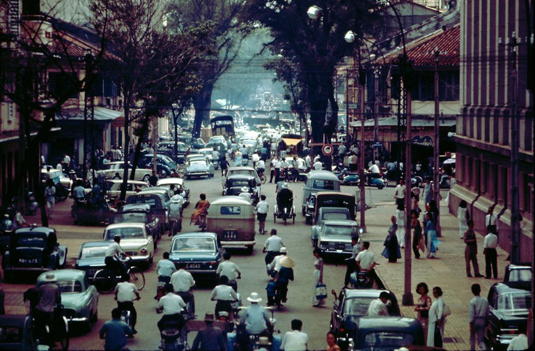 Pasteur Street, almost as busy as it still is today | © manhhai/Flickr