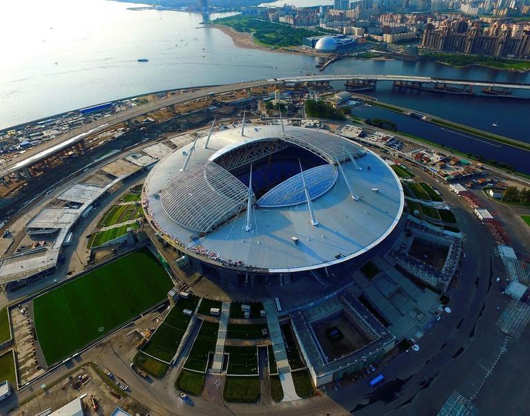 Krestovsky Stadium, St Petersburg