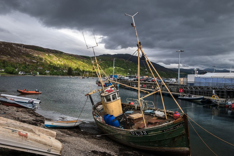 Ullapool Harbour, Scotland | © Donald / Flickr