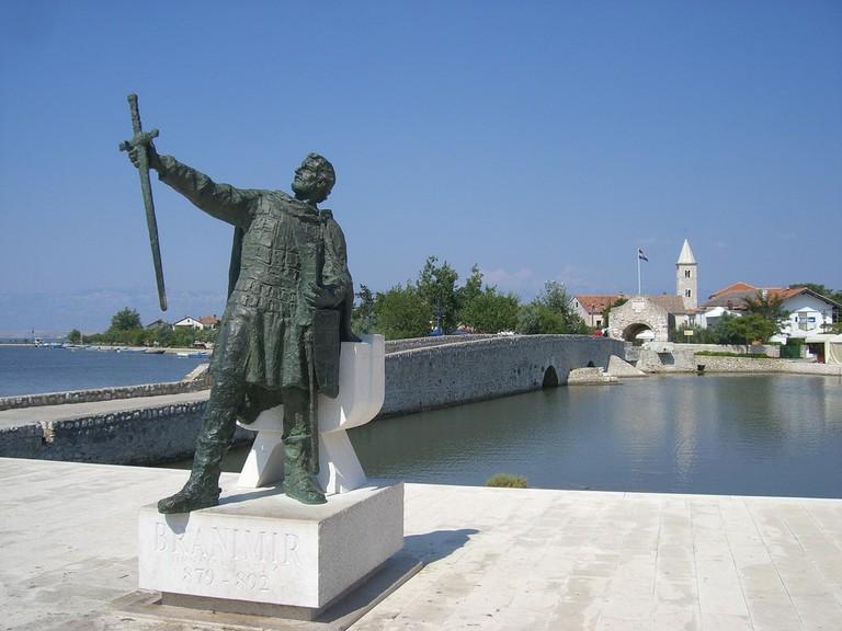 Statue to Branimir, Nin   © Peter Collins/Flickr