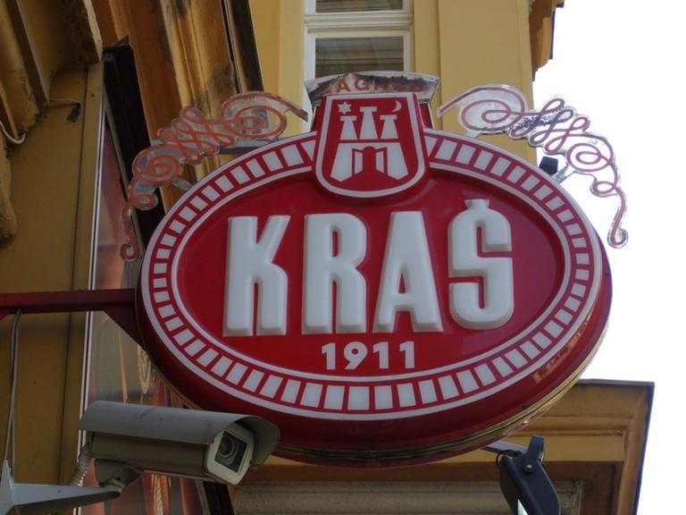 Kraš sign   © Living in Monrovia/Flickr