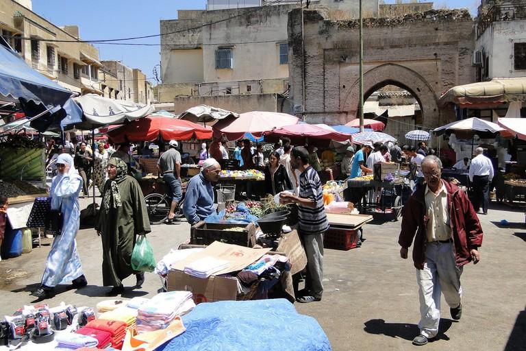 Meknes market