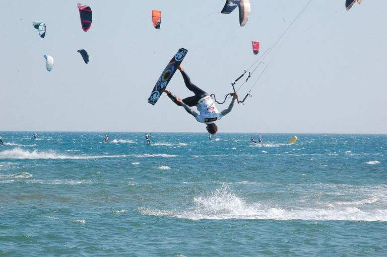 Do a flip!   © Tourisme Leucate/Flickr