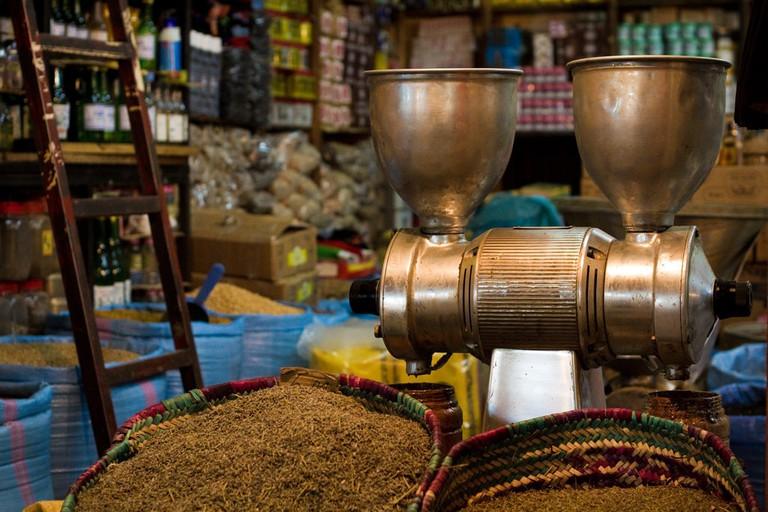 Agadir spice shop