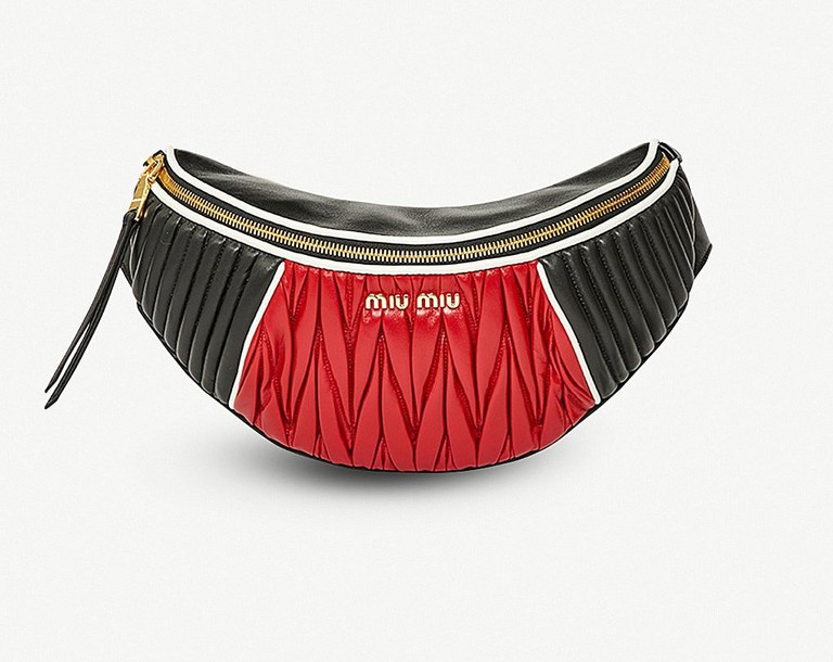 Miu Miu belt bag, £1,080