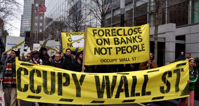 Occupy Wall Street March 16, 2012   © Michael Fleshman / Flickr