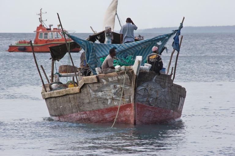 Local Zanzibar fishermen