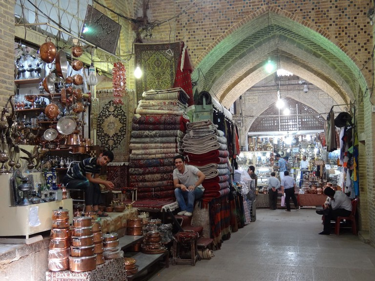 Bazaar in Shiraz | © Adam Jones / Flickr
