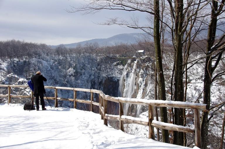 Snježana – a snowy scene in Plitvice | © Donald Judge/Flickr