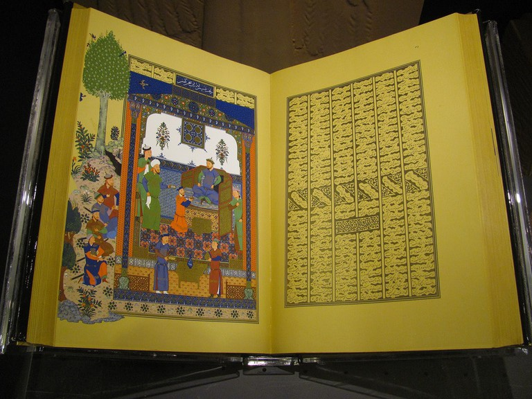 Ferdowsi's Shahnameh was written without the use of Arabic | © Andrew Lorente / Flickr