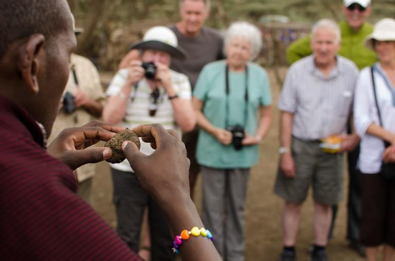 Masaai villager