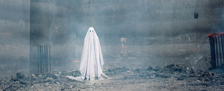 Casey Affleck, supposedly, in 'A Ghost Story' | © A24