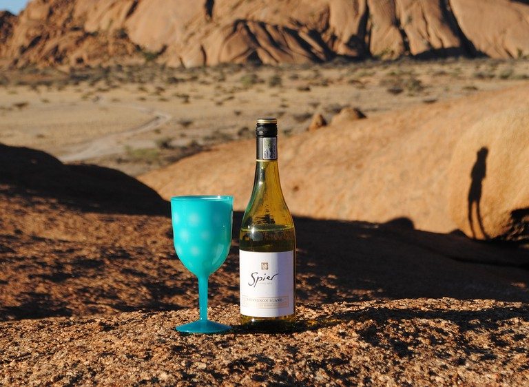 Camping in Spitzkoppe