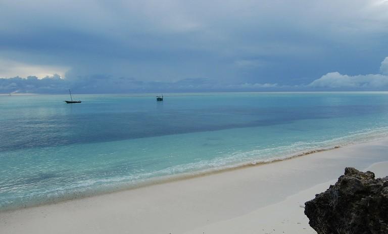 Zanzibar archipelago coastline