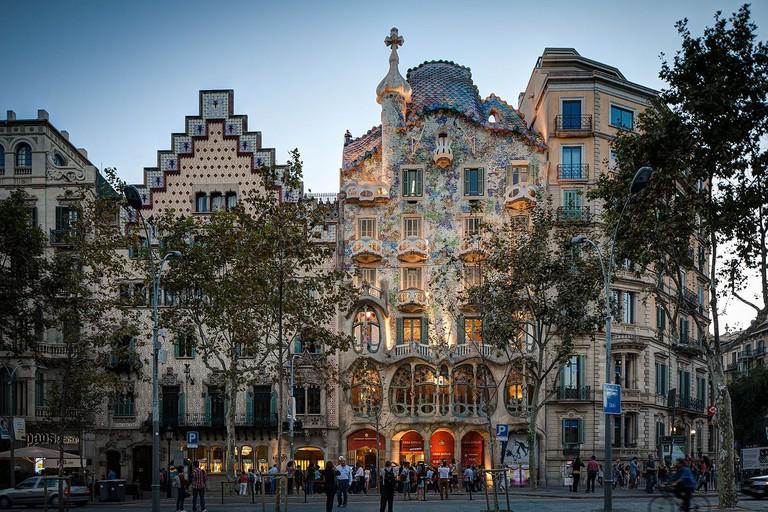 La Manzana de la discordia, Barcelona | ©ChristianSchd / Wikimedia Commons