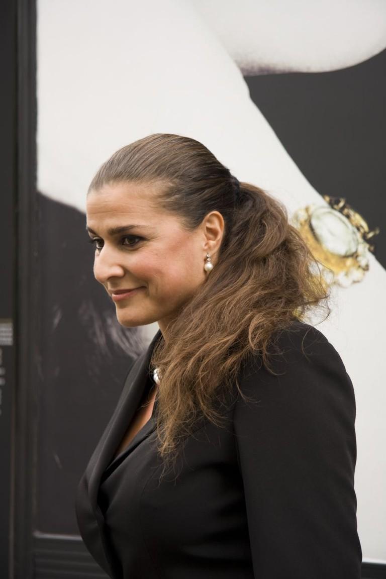 Cecilia Bartoli during a 2007 press event   © Erinc Salor/WikiCommons