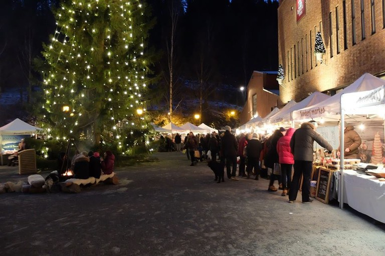 Christmas market at Bærums Verk   Courtesy of Bærums Verk