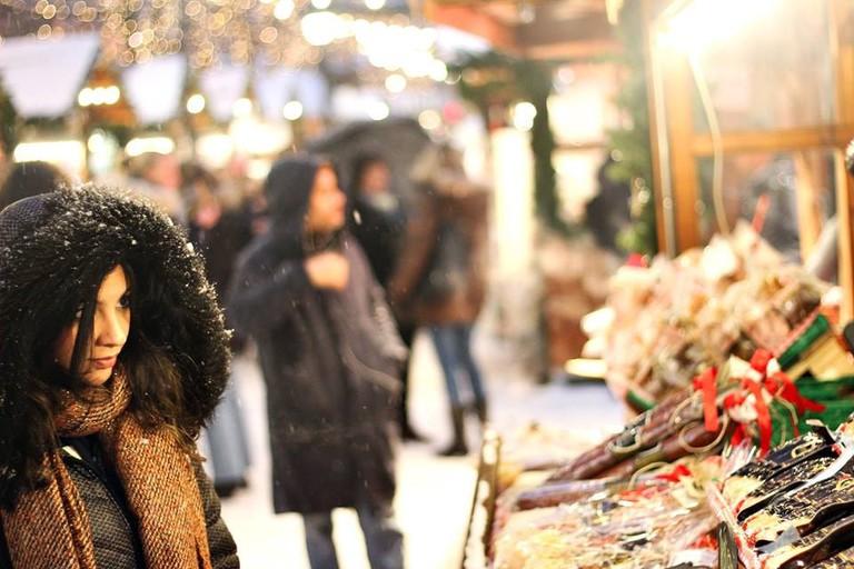 Christmas market at Spikersuppa   Courtesy of Jul i Vinterland