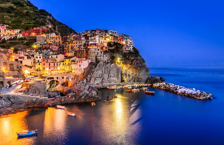 Manarolo village in the Cinque Terre   cge2010/Shutterstock
