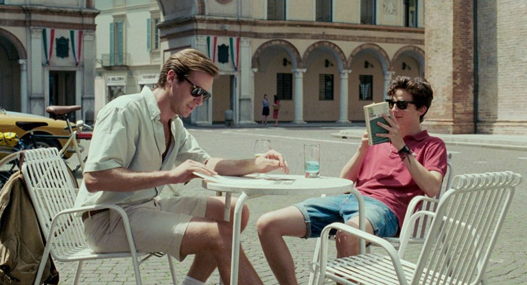 Armie Hammer and Timothée Chalamet in 'Call Me By Your Name' | © Sony Pictures Classics