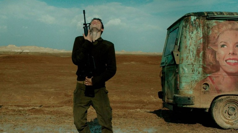 Yonaton Shiray in 'Foxtrot' | © Sony Pictures Classics