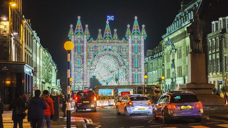 Edinburgh Christmas | © ShenXin / Pixabay