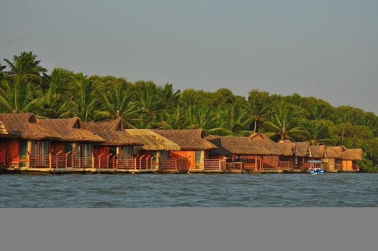 Floating Cottages Poovar