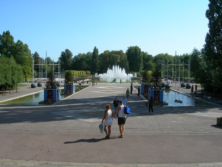 Fountain Lake, Battersea Park