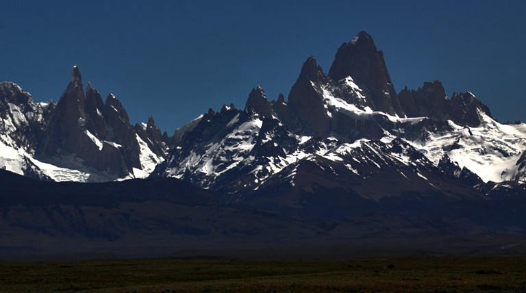 The imposing granite peaks of El Chalten
