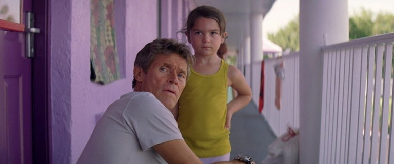 Willem Dafoe and Brooklynn Prince in 'The Florida Project' | © A24