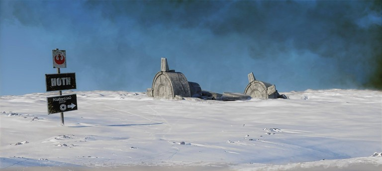 Imagery created to celebrate Visit Hoth 2017 | © Paul Wiz Johnson, Courtesy of Visit Hoth