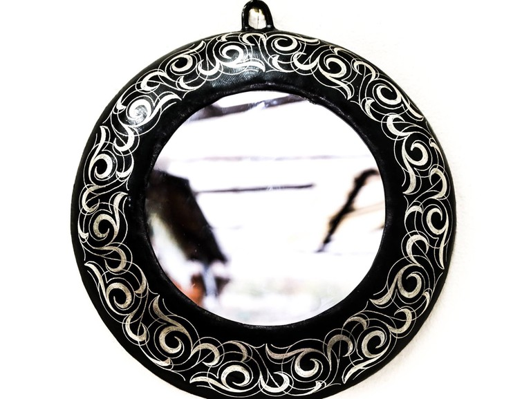 Damascene mirror