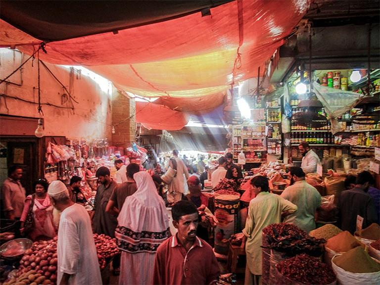 Karachi Market Web