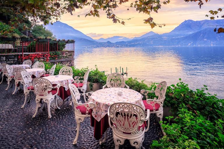 Lake Como at dusk | Boris Stroujko/Shutterstock
