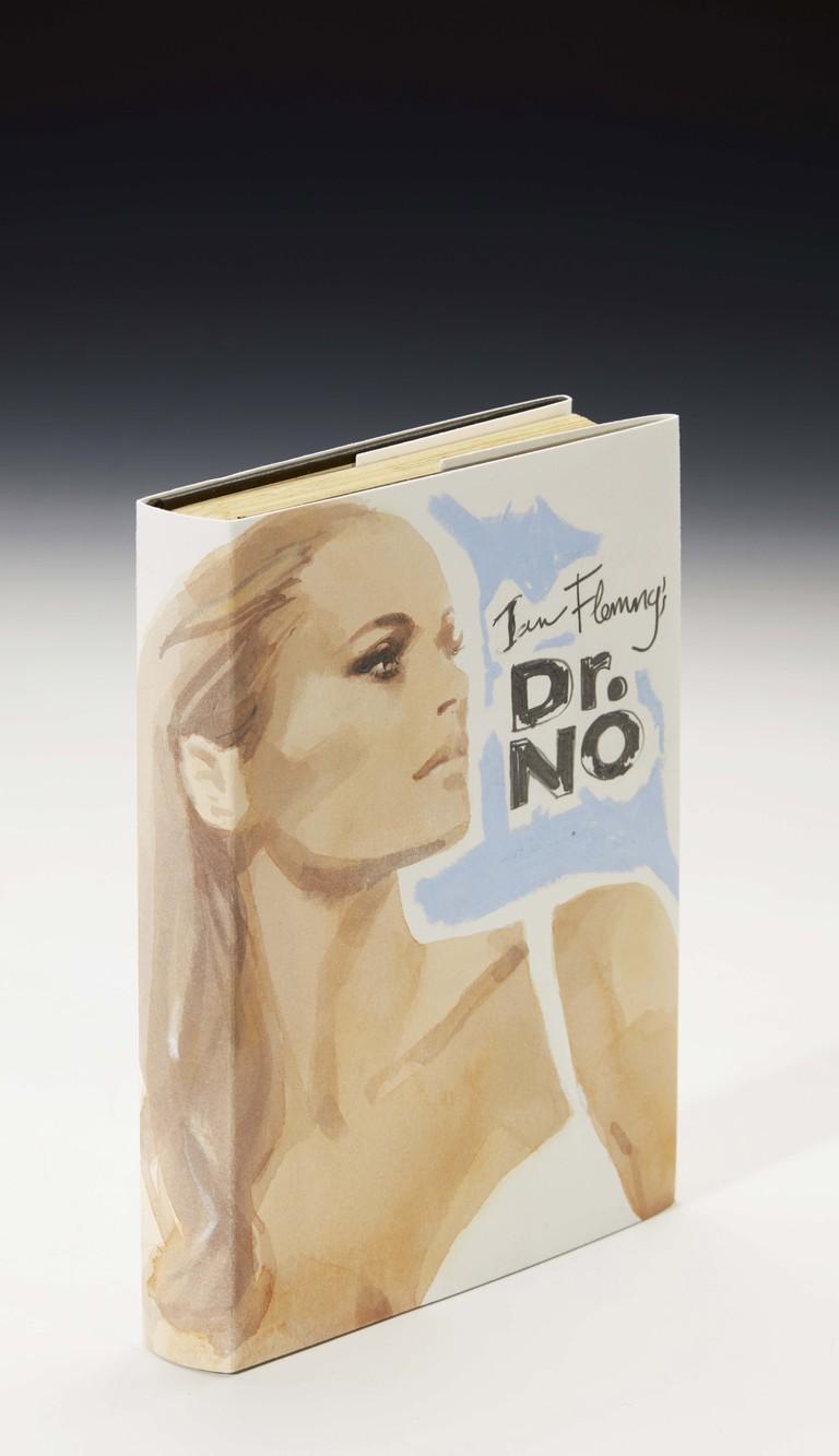 Lot 11 David Downton - Dr No by Ian Fleming