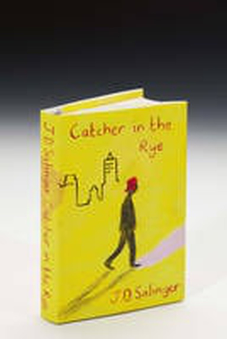 Bruce Ingman's cover for The Catcher in the Rye | © Sotherby's