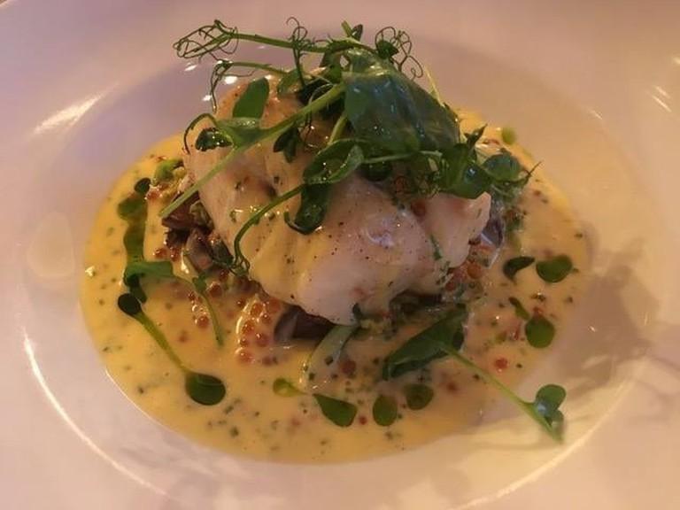 Lutefisk | Courtesy of Gamle Raadhus Restaurant