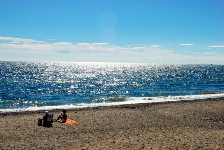 Marbella beach Karan Jain