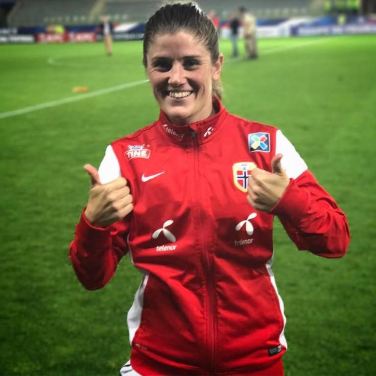 Maren Mjelde, Captain of the Norway National Team | Courtesy of Fotballandslaget