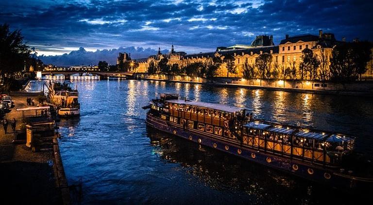 Seine Boat Paris