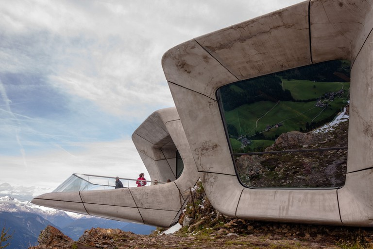 Messner Mountain Museum at the summit of the plateau of Kronplatz in the Südtirol   © ::ErWin/Flickr