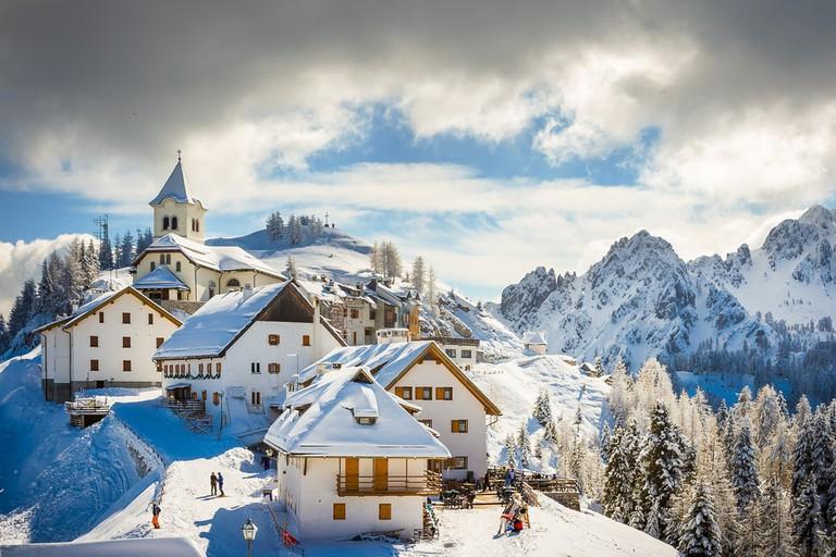 The summit of Monte Lussari   Alfio Finocchiaro/Shutterstock