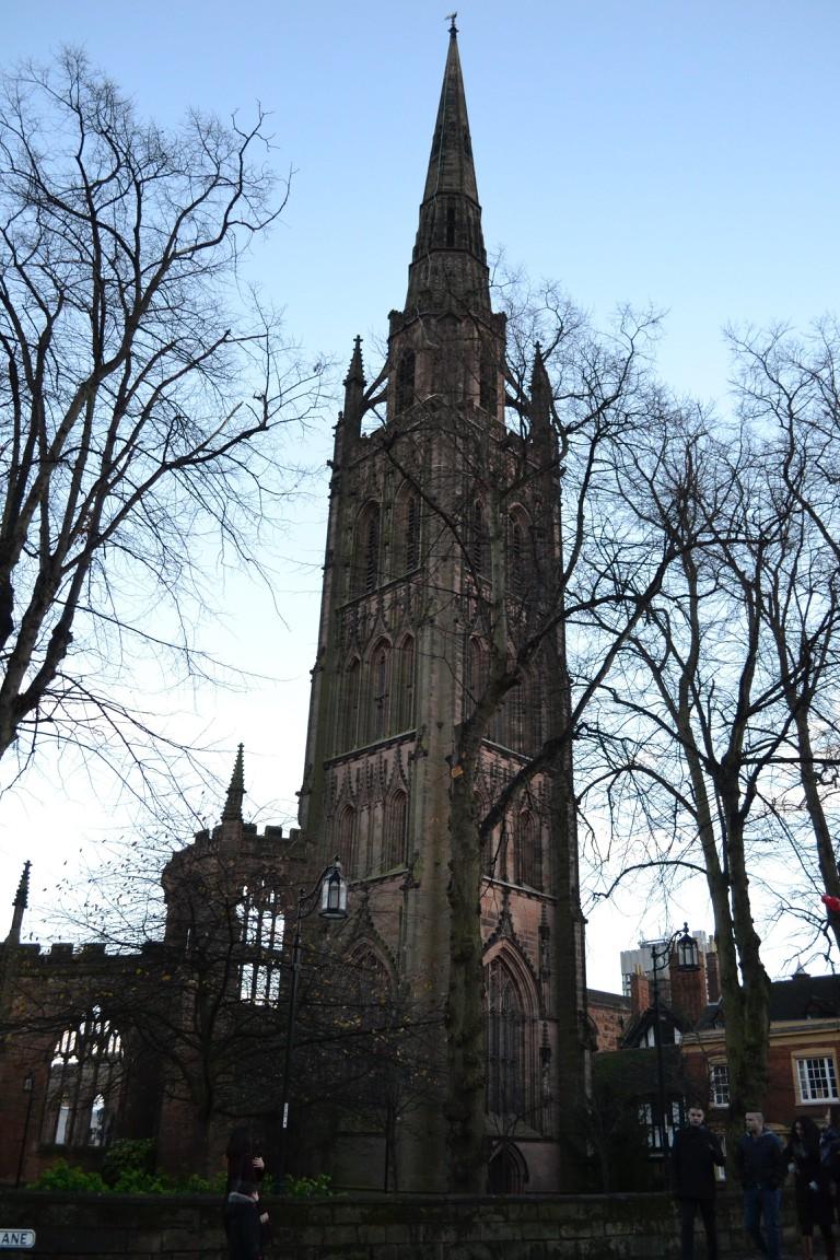 Coventry Cathedral tower | © Tatenda Munzara