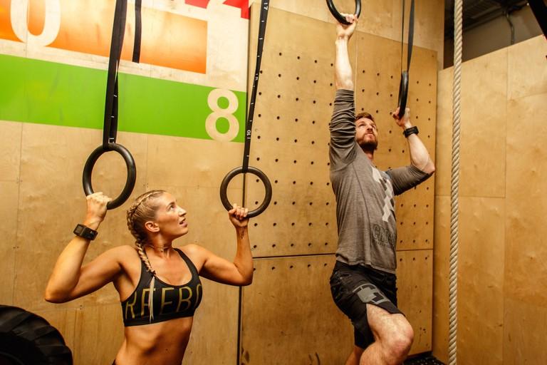 Ninja Warrior Class at Gymbox