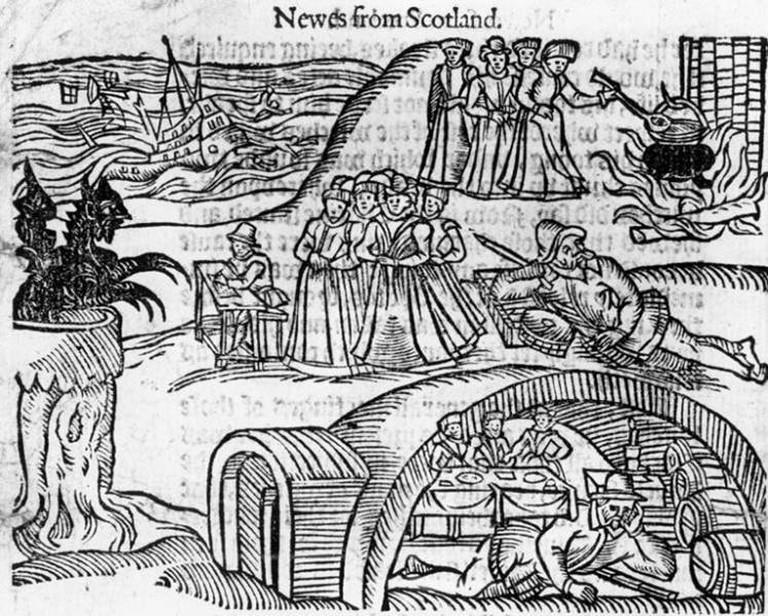 North Berwick Witches | Public Domain, via WikiCommons