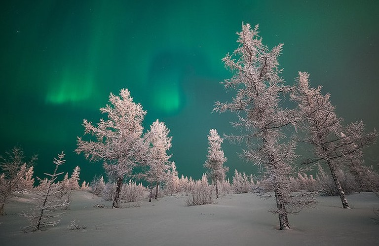 Nothern Lights_Flickr_Andrey Snegirev
