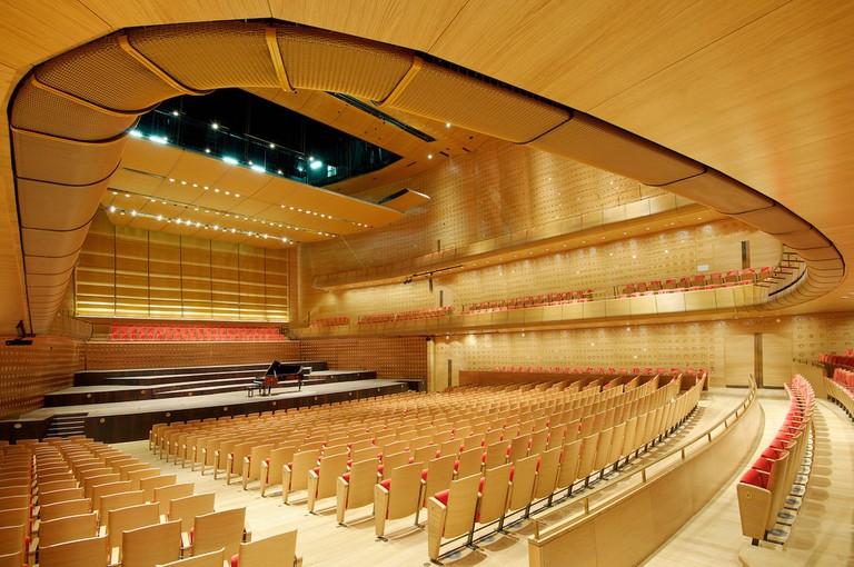 Queen Elizabeth Concert Hall, Antwerp BelgiumSimpsonHaugh Architects